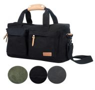 CANVAS COMPUTER BAG BG31 BLACK