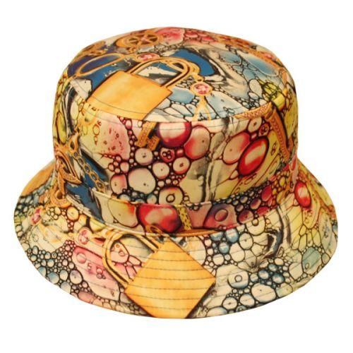 TREASURE PRINT BUCKET HATS BK2108
