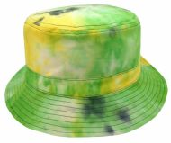 TIE DYE PRINT REVERSIBLE BUCKET HATS BK2129