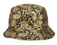 PAISLEY PRINT REVERSIBLE BUCKET HATS BK2185A