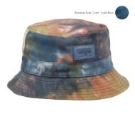 TIE DYE COTTON REVERSIBLE BUCKET HATS BK5100