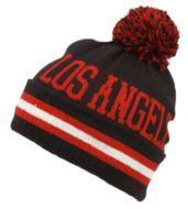 POMPOLM KNIT BEANIE HATS/LOS ANGELES BN1619