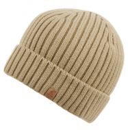 UNISEX KNIT BEANIE HAT WITH FREECE LINING BN1921