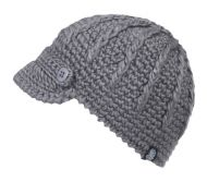 WINTER CABLE KNIT BEANIE WITH SMALL BRIM VISOR BN1980