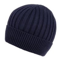 MEN'S CABLE BEANIE WITH SHERPA FLEECE LINING BN2384