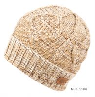 SOLID & MULTI COLOR KNIT BEANIE WITH SHERPA LINING BN2750