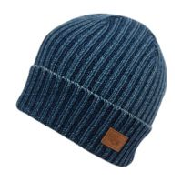100% COTTON KNIT BEANIE HAT BN2774