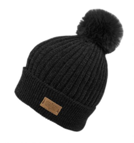 SOLID COLOR CABLE KNIT BEANIE W/POM POM BN4059
