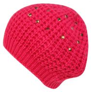 KNIT BERETS WITH STUDS BR1664