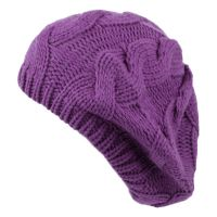KNIT CABLE CLASSIC BERETS BR1709