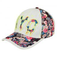 COTTON BASEBALL CAP WITH NYC LOGO CAP2027