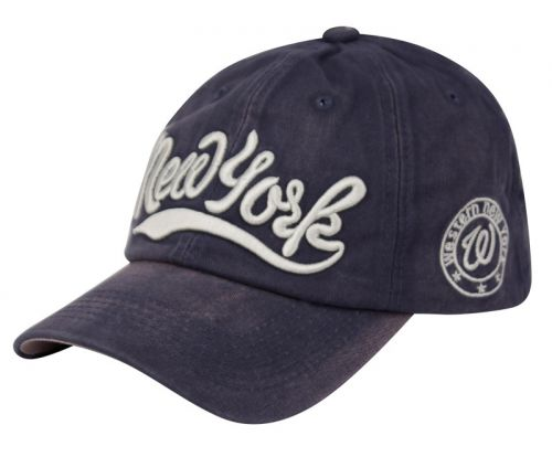 COTTON BASEBALL CAP WITH NEW YORK LOGO CAP2028