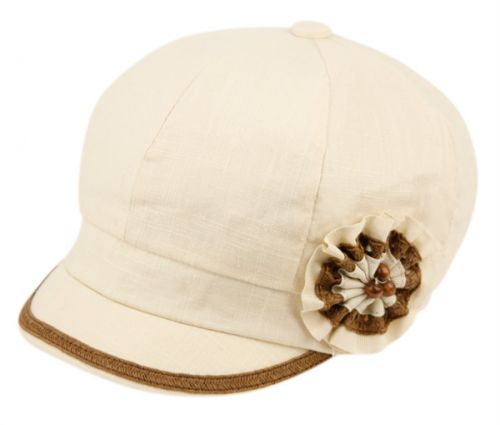 CABBIE HATS WITH FLOWER CB2243