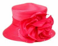 FASCINATOR WITH BIG FLOWER TRIM CC2235