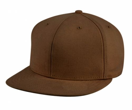 COTTON FLAT BRIM STRETCH FITTED CAP CE003
