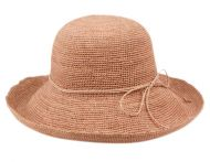 RAFFIA ROLL UP BRIM SUN CLOCHE HATS CL2904
