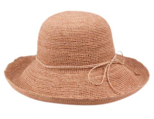 RAFFIA ROLL UP BRIM SUN CLOCHE HATS CL2904