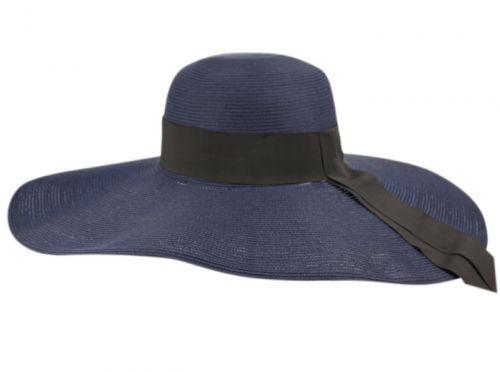 WIDE BRIM SOLID COLOR SUN FLOPPY HATS CL2908