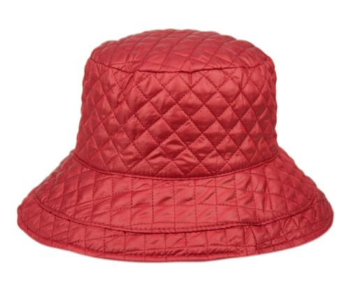 QUILTED STITCH RAIN BUCKET HATS CL3004