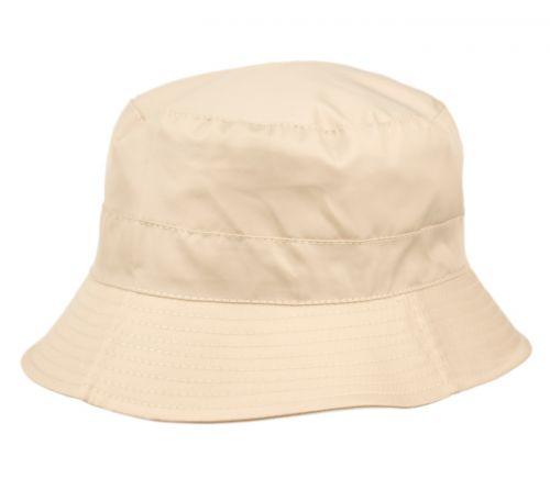 WATERPROOF PACKABLE RAIN BUCKET HATS W/ZIPPER CLOSURE CL3056