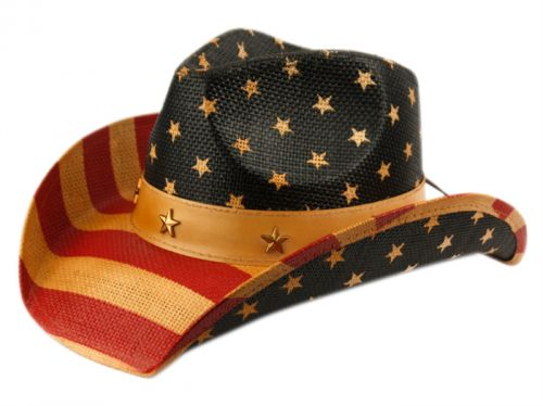 AMERICAN FLAG COWBOY HATS COW2935