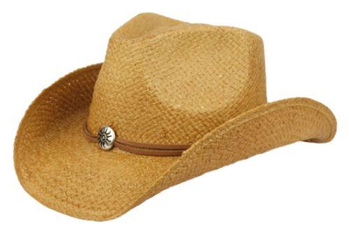 FASHION COWBOY HATS W/TRIM BAND & STUDS COW4105