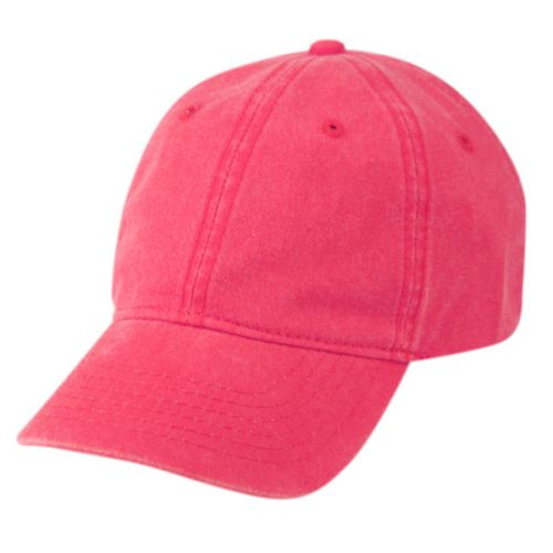 PIGMENT DYED WASHED COTTON CAP WITH STRAPBACK CP0326