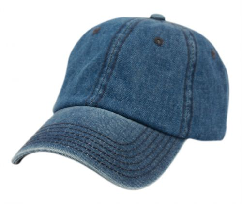 WASHED COTTON BASEBALL CAP WITH STRAPBACK METAL BUCKLE CP0331