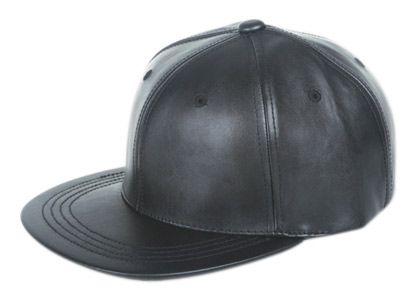 FAUX LEATHER SNAPBACK CAPS CP1952