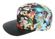 MULTI COLOR PRINT FIVE PANEL CAP CP2178