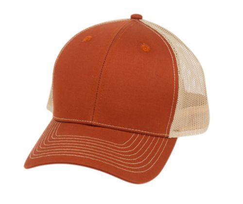 COTTON TWILL TRUCKER CAP WITH MESH CP3081