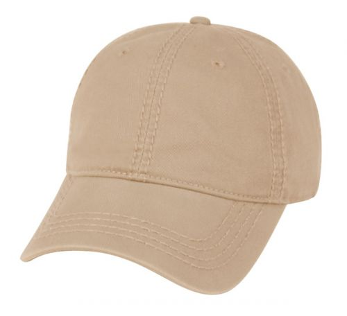 WASHED COTTON CAP WITH HEAVY STITCHING CV011