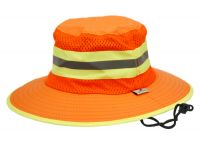 OUTDOOR CAMPING MESH CROWN BUCKET HAT F4121
