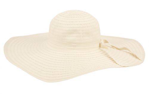 WIDE BRIM RIBBON FLOPPY HATS FL2208