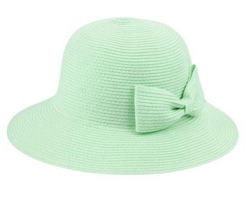 POLY BRAID BUCKET SUN HATS WITH RIBBON FL2798