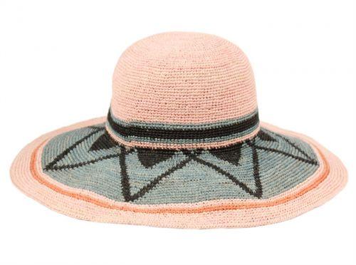 RAFFIA STRAW SUMMER SUN FLOPPY HATS FL2906