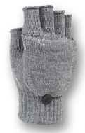FINGERLESS KNIT GLOVE WITH FLIP GL2009