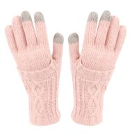 DOUBLE LAYER KNIT GLOVE WITH SCREEN TOUCH GL2754