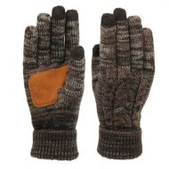 CABLE KNIT WINTER GLOVES W/SCREEN TOUCH & SUEDE PALM PATCH GL3002