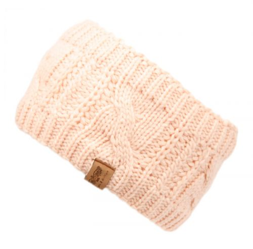 KNIT WINTER HEADBAND WITH SHERPA LINING HB3044