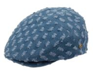 DENIM COTTON DISTRESSED DOTS IVY CAPS IV2934