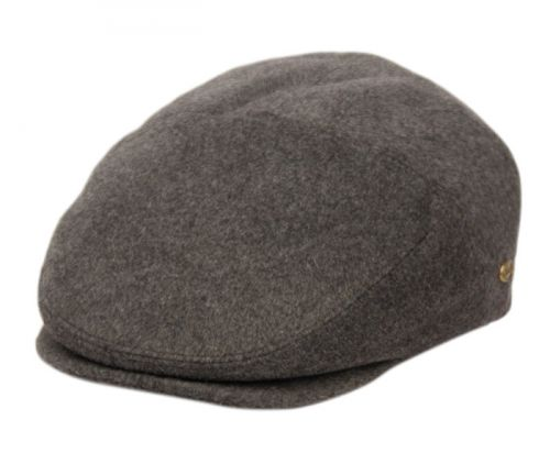 BRUSHED WOOL SOLID IVY CAPS W/SATIN QUILTED LINING IV3009