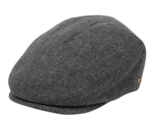 TWEED WOOL IVY CAPS W/SATIN QUILTED LINING IV3082