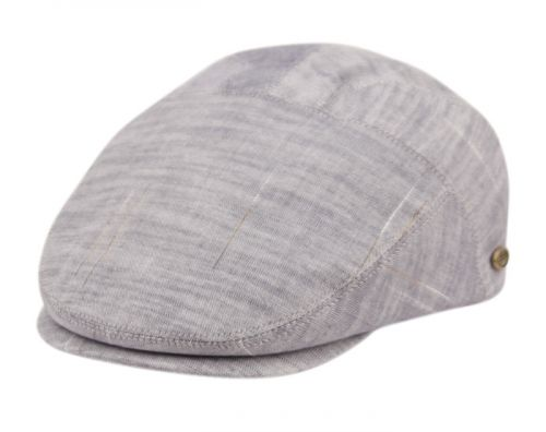 COTTON SLIM FIT SIX PANEL TWEED IVY CAPS IV4020