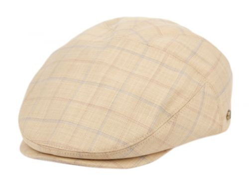 COTTON SLIM FIT SIX PANEL CHECK IVY CAPS IV4023