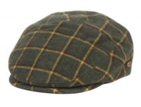 PLAID TWEED WOOL IVY CAPS IV5007