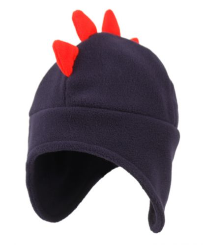 KIDS WINTER FREECE HAT WITH TOP RED CROWN KD2755
