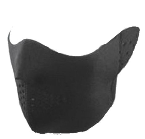 SKI HALF FACE MASK W/FOAM & VELCRO CLOSURE MSK1988