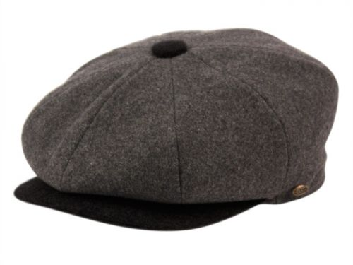 TWO TONE MELTON WOOL NEWSBOY CAP NSB1595-S