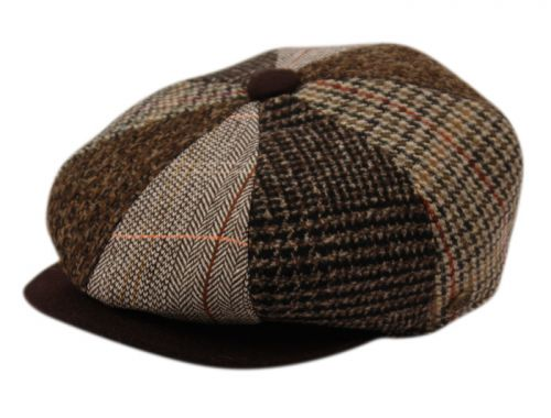 MULTI PATCH WORK NEWSBOY CAP NSB1910
